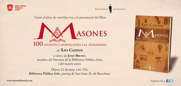 INVITACIO MASONES arus