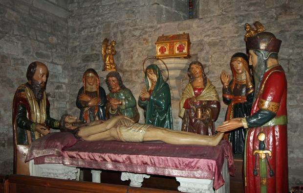 santa_anna1_ conjunto escultórico en la capilla del Santa Sepulcro